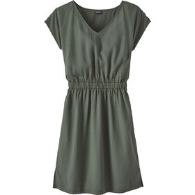 Patagonia June Lake Kleid Damen kale green